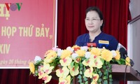 Parlamentspräsidentin Nguyen Thi Kim Ngan trifft Wähler im Kreis Phong Dien in Can Tho
