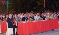 Parlamentspräsidentin Nguyen Thi Kim Ngan nimmt an Feier der Stadt Ben Tre teil