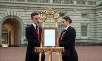 Britische Königsfamilie begrüßt neues Mitglied