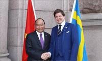 Premierminister Nguyen Xuan Phuc trifft Schwedens Parlamentspräsidenten Andreas Norlén
