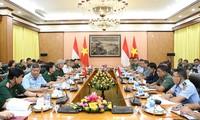 1. Dialog über Verteidigungspolitik zwischen Vietnam und Indonesien