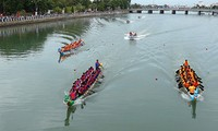 Regatta-Meisterschaft 2019 im Thach Han-Fluss