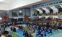 Binh Dinh veranstaltet Wettbewerb der traditionellen Kampfkunst für Kampfkunstschulen