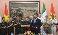 3. Dialog über Verteidigungspolitik zwischen Vietnam und Italien in Hanoi
