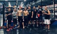 Vietnamesischer Boxmeister Truong Dinh Hoang in Südkorea