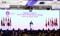Eröffnung der 52. ASEAN-Außenministerkonferenz in Bangkok
