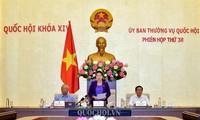 Abschluss der 36. Sitzung des Ständigen Parlamentsausschusses