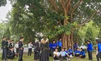 Die Nung in Lang Son singen Sli zum Unabhängigkeitsfest