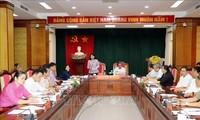 Vizestaatspräsidentin Dang Thi Ngoc Thinh tagt mit Spitzen der Provinz Tuyen Quang