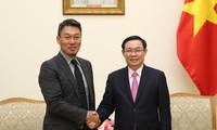 Vizepremierminister Vuong Dinh Hue fordert die Vervollständigung des bargeldlosen Zahlungsverkehrs in Vietnam