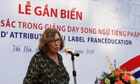 Vietnam ist eine Säule der Frankophonie in Asien