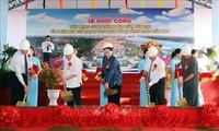 Parlamentspräsidentin Nguyen Thi Kim Ngan nimmt am Baustart der historischen Gedenkstätte Lo Vong Cung teil