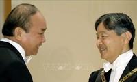 Der Premierminister beendet seinen Japanbesuch für Teilnahme an Zeremonien zur Thronbesteigung von Kaiser Naruhito