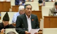 Parlament diskutiert Entwurf des Organisationsgesetzes der Regierung und des Organisationsgesetzes der Provinzregierung