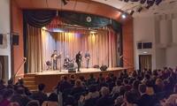 Jazz-Aufführungen von Tran Manh Tuan in Russland