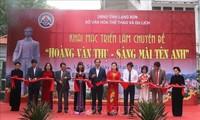 Ausstellung über Hoang Van Thu in Lang Son