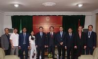 Vizepremierminister Vuong Dinh Hue: erste Fundamente für den Handel mit Nigeria