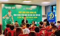 142 Teams beteiligen sich an 13. Basketball-Wettbewerb für Grundschüler in Hanoi
