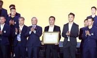 FC Hanoi bekommt Arbeitsorden dritter Klasse verliehen