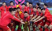 AFF Awards 2019: die vietnamesische Nationalmannschaft gewinnt den Preis als ausgezeichnete Männermannschaft