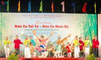Festival für Don Ca Tai Tu und Volksgesänge des Südens in Can Tho 2019