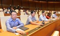 Parlament stimmt über einige Gesetzesentwürfe und Beschlüsse ab