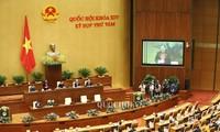 Abschluss der 8. Sitzung des Parlaments der 14. Legislaturperiode