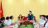 Parlamentspräsidentin Nguyen Thi Kim Ngan besucht Provinz An Giang