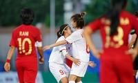 SEA Games 30: Vietnams Fußballnationalmannschaft der Frauen besiegt die indonesische Mannschaft und geht ins Halbfinale