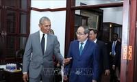 Vietnam-USA-Beziehungen entwickeln sich weiter