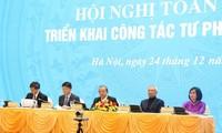 Vizepremierminister Truong Hoa Binh nimmt an Konferenz der Justizbehörde teil