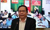 Das ganze System der Vaterländischen Front Vietnams engagiert sich für die Epidemie-Bekämpfung
