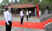 Gedenkfeier zum Todestag des Vaters des vietnamesischen Volkes Lac Long Quan