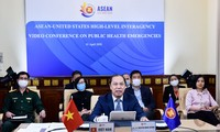 Online-Konferenz hochrangiger Beamten der ASEAN und USA über öffentliche Gesundheitsnotfälle