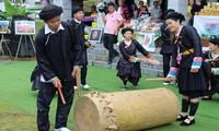 Der Trommel-Tanz der Volksgruppe Giay in der Provinz Ha Giang
