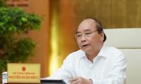 Premierminister: Hanoi gehört nun der Gruppe mit mittlerem Risiko an, muss aber weiter die Epidemie-Bekämpfung gewähren