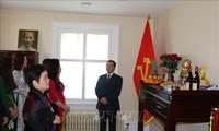 Vorbereitung für die Eröffnung des Ausstellungsraums Ho Chi Minh in Kanada