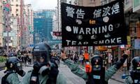 Sicherheitsgesetz in Hongkong (China) tritt in Kraft