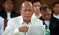 Philippinen unterstützen den Standpunkt der USA über das Ostmeer