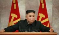 Nordkoreas Machthaber Kim Jong-un leitet Konferenz der Parteileitung der Armee