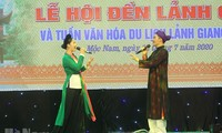 Eröffnung des Festes vom Lanh-Giang-Tempel und der Kultur-Tourismuswoche Lanh Giang 2020