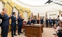 Historisches Friedensabkommen zwischen Israel und VAE und dessen Einflüsse auf Politik im Nahen Osten