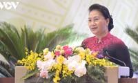 Parlamentspräsidentin Nguyen Thi Kim Ngan nimmt an Parteikonferenz des Parlamentsbüros teil