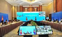 Sich auf Möglichkeit der Unterzeichnung des RCEP-Abkommens Ende 2020 richtet