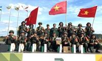 Vietnamesische Pioniersoldaten gewinnen Bronzemedaille bei Army Games