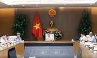 Sitzung des Nationalverwaltungsstabs für Covid-19-Bekämpfung