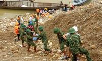 Folgen von Naturkatastrophen beseitigen und die Sicherheit der Rettungskräfte gewährleisten
