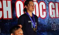 Anh Vien verliert den zweiten Wettkampf gegen My Thao in der Nationalen Schwimmmeisterschaft