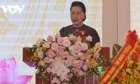 Parlamentspräsidentin Nguyen Thi Kim Ngan nimmt an Konferenz für patriotischen Wettbewerb des Justizbereichs teil