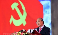 Premierminister Nguyen Xuan Phuc besucht Thai Binh